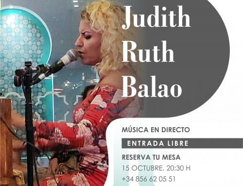 15 Octuber |Judith Ruth Balao | Música en Directo