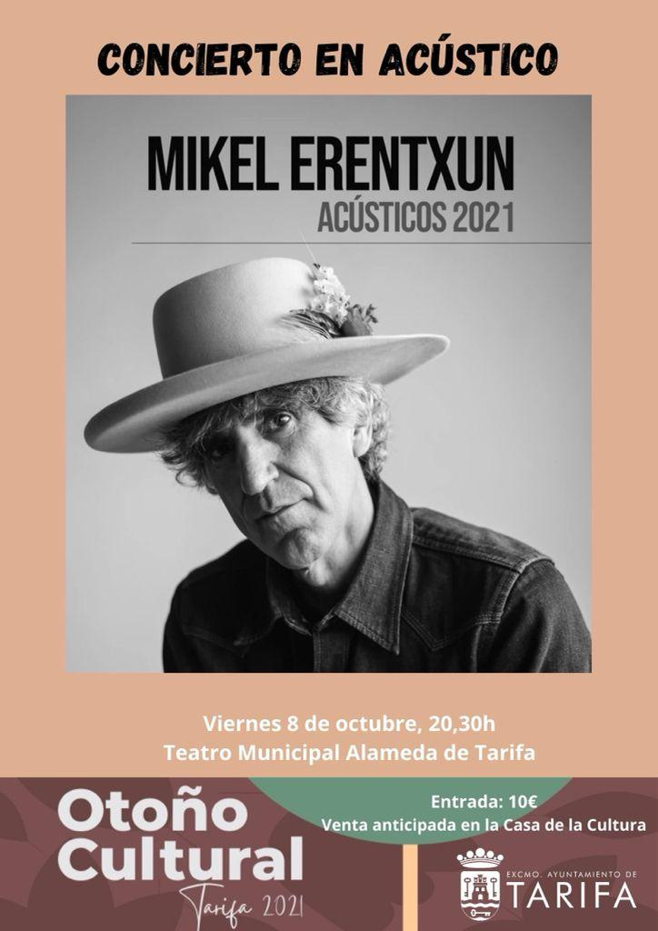 """""""Mikel Erentxun en acústico"""""""